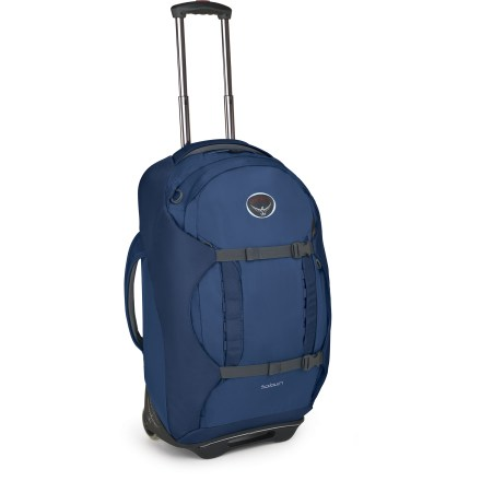 Camp and Hike The Osprey Sojourn 25 is designed for travelers who need their luggage to be ready for anything. It can be easily worn as a pack or wheeled about, allowing you to readily adapt to your travel needs. - $202.93
