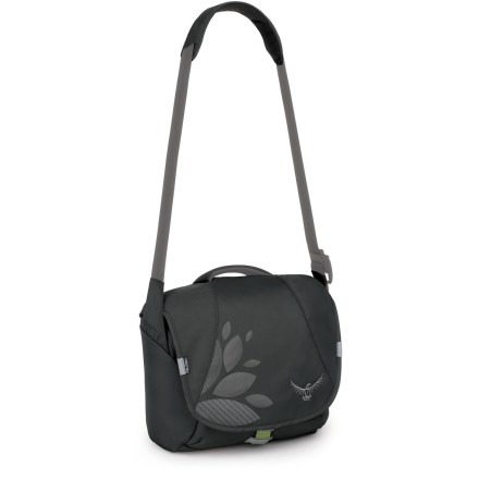 Entertainment The Osprey FlapJill Mini is a tailored, courier-style shoulder bag perfectly sized to carry your favorite tablet or netbook and a few other daily essentials. - $29.93