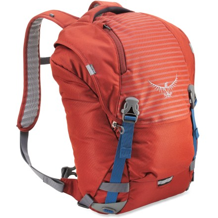 Entertainment With fresh styling and improved organization, the Osprey FlapJack daypack is an everyday pack that organizes your computer, gadgets and more, and fits in anywhere and everywhere. - $24.93