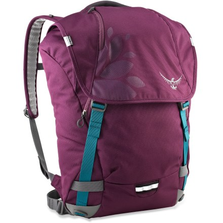 Entertainment With fresh styling and improved organization, the Osprey FlapJill Daypack is an everyday pack that organizes your computer, gadgets and more, and fits in anywhere and everywhere. - $62.93