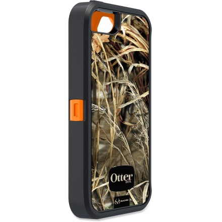 Entertainment Featuring a distinctive camouflage look, the OtterBox iPhone(R) 5 Defender Series case with Realtree Camo offers your device unparalleled protection from bumps, shocks, scratches, dings and dust. - $21.83