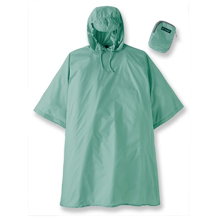 Entertainment A great travel item, this Outdoor Products Multi-Purpose poncho for women is easy to pull out of your bag and throw over your clothes and daypack for quick weather protection. - $30.00