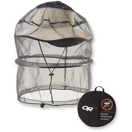 Camp and Hike Enjoy this chemical-free way to keep bugs off your face. The Deluxe version is cut a bit wide to accommodate wide-brimmed sun hats (sold separately). - $13.93