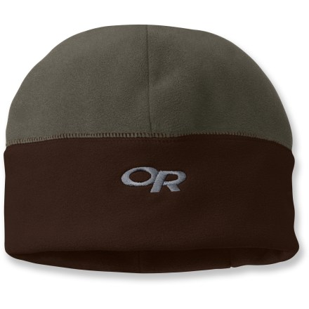 Entertainment When winds kick up, hunker down with this Outdoor Research Winter Trek hat featuring Gore WindStopper(R). Gore WINDSTOPPER(R) fabric eliminates windchill, yet it's breathable and quickly dissipates excess moisture to keep you dry and warm. Flatseam construction along earband is soft and non-chafing next to skin. Features 4-panel construction for a snug fit. Exterior hidden zipper pocket on earband is 4.75 x 2.25 in. with room for a key, cash or energy gel. - $15.83