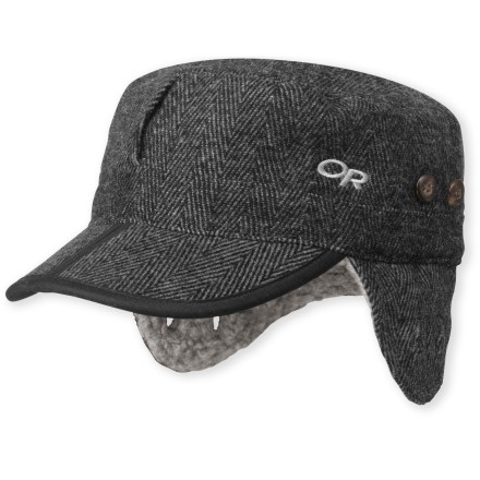 Entertainment Wear the Outdoor Research Yukon cap while walking the dog or trekking the world. - $40.00