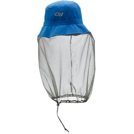Keep hungry insects at bay and out of your face with the Outdoor Research(R) Bug Bucket hat! - $34.00