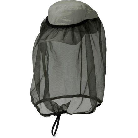 Sports The Outdoor Research Bug Net(TM) cap features no-see-um netting stashed in the back of the cap and ready to be deployed when bugs start biting. - $18.93