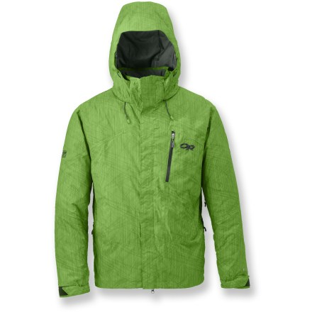 Ski When you're earning those turns, the Igneo lightly insulated jacket from Outdoor Research provides breathability and venting so you can cruise in comfort while carving down the mountain. - $325.00