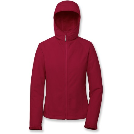 The Outdoor Research Habitat Hoodie Fleece jacket is a great mid-layer for winter outings. Breathable, quick-drying and non-pilling high-loft polyester fleece offers warmth without a lot of weight, so you stay comfortable. Balaclava-style hood offers a close fit. Front zipper features an internal stormflap. Flatlock seams maximize motion and minimize abrasion. Zippered handwarmer pockets offer a warm refuge to cold fingers. Closeout. - $28.73