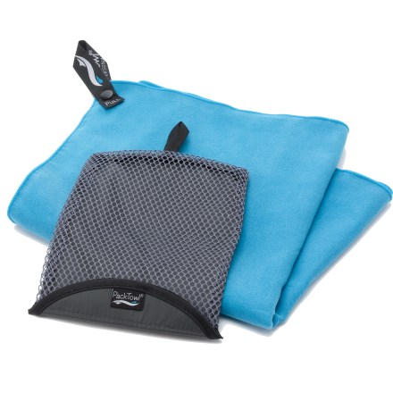 Camp and Hike Perfect for drying off after a dip in an alpine lake, the PackTowl Personal towel has a soft hand that feels great next to skin. - $9.95