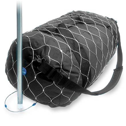 Camp and Hike When traveling by train or plane, secure your luggage with this sturdy steel web of protection - $49.93