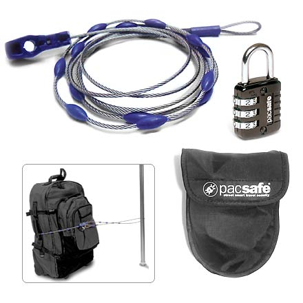 Camp and Hike An essential travel accessory-briefcases, backpacks, roof-rack luggage, golf bags and bicycles-Wrapsafe(TM) secures it all! - $14.93