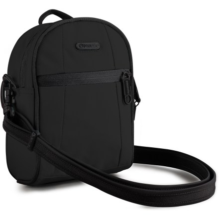 Fitness The Pacsafe Metrosafe GII is a slash-proof and tamper-resistant shoulder bag-it carries all your daily essentials and must-have electronic gadgets, as well as a small travel book or planner. - $29.93