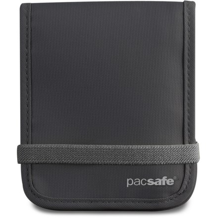 Entertainment The Pacsafe RFIDtec 100 wallet can hold, organize and protect all your key travel documents from opportunistic RFID thieves. - $14.93