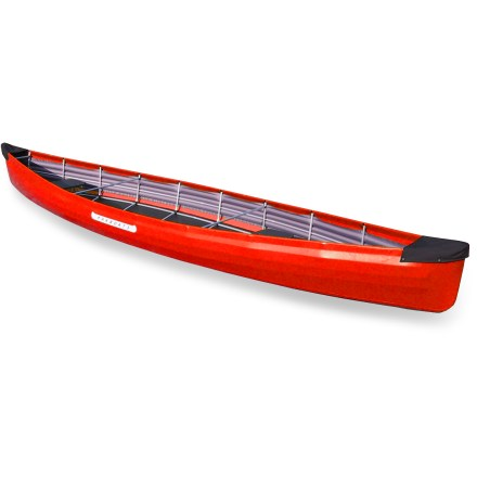 Kayak and Canoe This incredible folding canoe can go places other canoes cannot-your closet or your car's trunk! Assembles in just 30 min. and stores in a 35 x 18 x 15 in. bag, included. Designed for two paddlers and has enough gear-holding capacity for multi-week adventures. Rugged, abrasion-resistant PVC-coated synthetic canvas skin with closed-cell foam laminate eliminates frame contact pressure points. Shockcorded, anodized aluminum frame is strong, lightweight and corrosion-resistant; color-coded for easy assembly. Inflatable compartments between frame and skin provide rigidity after skin is pulled over frame. Seats can be adjusted for sitting or kneeling positions and for adjusting canoe's trim. Comes with pump, repair kit and storage bag. - $1,864.93