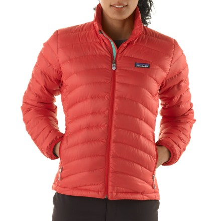 Frosty mornings, crisp evenings and brisk mountain air all suit the Patagonia Down sweater well. Ultralight, windproof and toasty warm, it's ideal as a mid layer or as outerwear in chilly climates. - $108.83