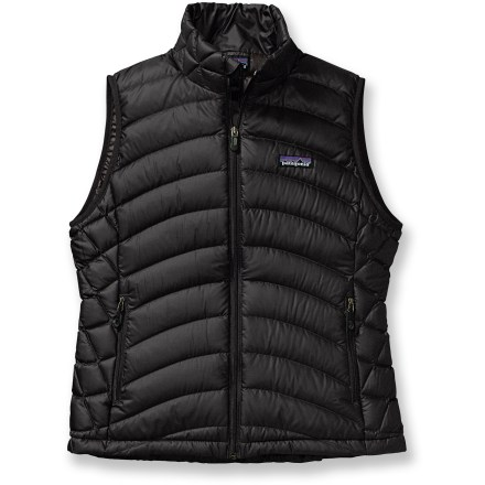 Golf Impossible to confuse with sweater vests found at golf courses and bingo parlors, the Patagonia Down Sweater vest comes packed with ultra-toasty down that traps heat. Use it in alpine conditions. - $83.83
