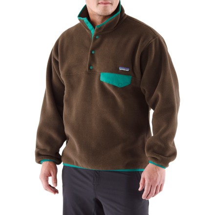 Camp and Hike The Synchilla Snap-T fleece pullover boasts Patagonia's signature style and features warm, durable fleece. - $119.00