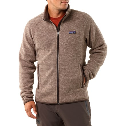 Camp and Hike The Patagonia Better Sweater is a very soft, full-zip polyester jacket with a timeless sweater-knit face and the warmth and durability of 9.5 oz. polyester fleece. - $68.83