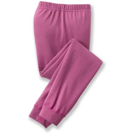 Ski Great for skiing and backpacking, the Patagonia Capilene 3 Midweight long underwear bottoms for girls are highly breathable, moisture wicking and fast drying. - $16.83