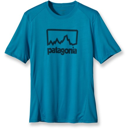 Fitness The Patagonia Capilene(R) 1 Silkweight Graphic T-shirt is built for tough workouts. - $16.73