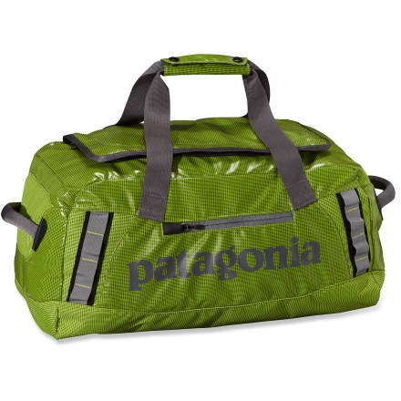 Camp and Hike The Patagonia Black Hole 45L duffel is a highly water resistant and highly durable duffel designed to carry your gear to faraway places. - $68.93
