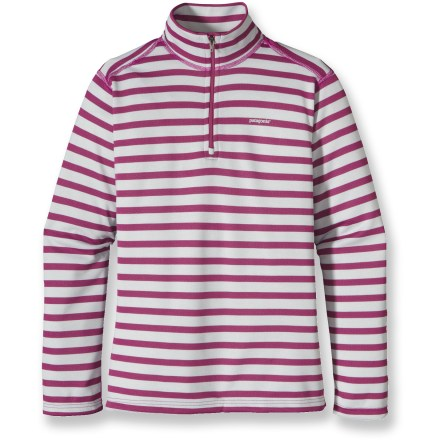 Ski Ideal for high-energy activities in a wide range of temperatures, the Patagonia Capilene 3 Midweight Zip-Neck shirt for girls is highly breathable and fast drying. - $32.93