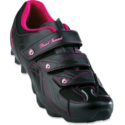 Fitness The women's all-around, All-Road bike shoes from Pearl Izumi prove you don't have to pay top dollar for high-level performance. - $15.83