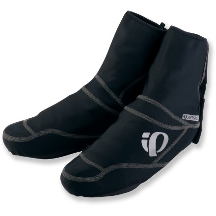 Fitness The Pearl Izumi Select Softshell bike shoe covers set the benchmark for affordable protection from the elements when riding on cool days. - $28.83