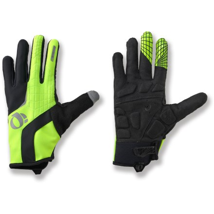 Fitness The lightweight Pearl Izumi Cyclone Gel bike gloves deliver excellent wind and water protection when cycling in cool weather. - $19.83