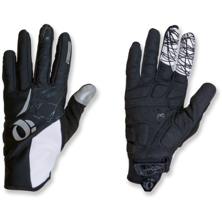 Fitness The Pearl Izumi Cyclone women's bike gloves protect against wind and water when cycling in cool weather. - $19.83