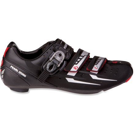 Fitness Pearl Izumi Elite RD III men's bike shoes feature a stiff platform for serious power transfer, in a lightweight design that won't poach energy from your hard-working muscles. - $99.83