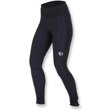Fitness Thoughtfully designed for cool weather, the Pearl Izumi Elite AmFIB women's bike tights keep you super warm and dry for long rides. - $54.83