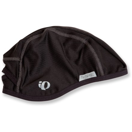 Fitness The Pearl Izumi Thermal skull cap keeps your head warm and dry. - $17.93