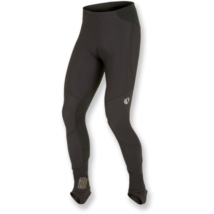 Fitness Thoughtfully designed for cool weather, the Pearl Izumi Elite AmFIB Bike tights keep you super warm and dry for long rides. - $66.93