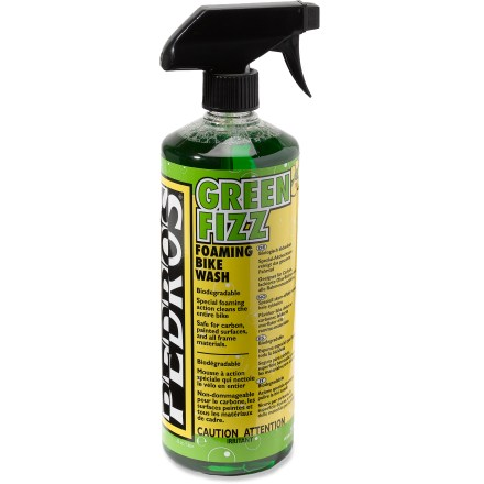 Fitness Pedro's developed this environmentally benign, water-based wash to work on the entire bike. - $18.00