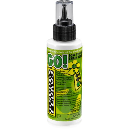 Fitness Pedro GO! is an eco-friendly lube that keeps your chain running smoothly during clean riding conditions. - $4.93
