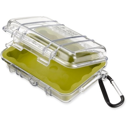 Kayak and Canoe Supplying the same legendary strength as the original Pelican Case, this mini case provides protection to small electronic items and other valuables. - $22.50