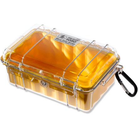 Kayak and Canoe Furnishing the same legendary strength of the original Pelican Case, this mini case provides protection to small electronic items. - $26.50