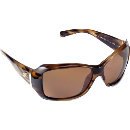 Entertainment The Pepper's Molly polarized sunglasses cut a large swath of protection for your eyes. - $39.95