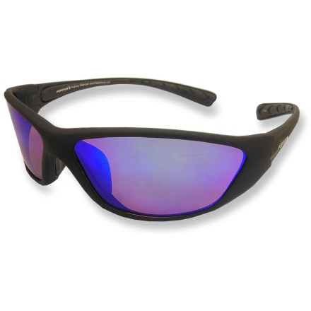 Entertainment Designed for a day of fun in the sun, the Pepper's Tadley lightweight, polarized sunglasses wrap-around for complete protection from the sun! - $44.95
