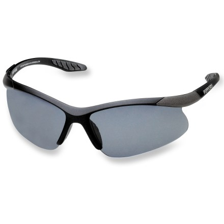 Entertainment Slip them on for race day or training! The Pepper's Richochet polarized sunglasses provide wrap-around protection from the sun. - $39.95