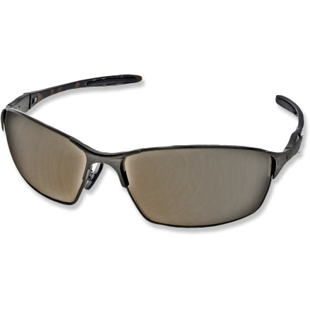 Entertainment Designed with lightweight, strong monel metal, these Pepper's Nevada polarized sunglasses keep your eyes shielded when you're out and about on sunny days. - $39.95