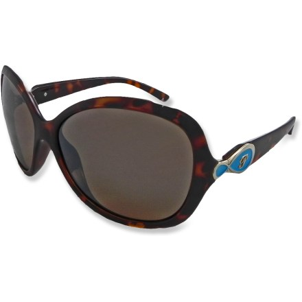 Entertainment Behind the high style of the Pepper's Francesca Polarized sunglasses is performance-ready substance; polarized lenses give maximum protection while flexible nylon frames offer a comfortable fit. - $27.83