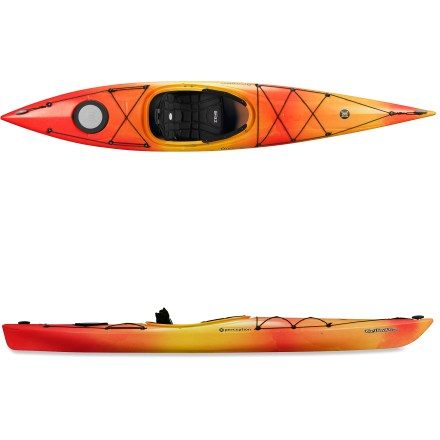 Kayak and Canoe Light and comfortable, the stable Perception Tribute 12 kayak will have women kayakers rejoicing! - $769.00