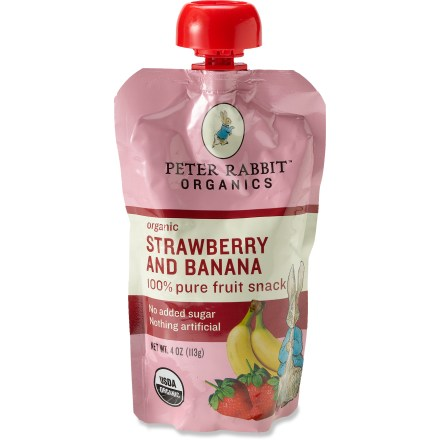 Camp and Hike Peter Rabbit Organics Fruit Squeeze pouch is loaded with 100% organic fruit, making it easy for you to get your daily dose of goodness. - $2.50