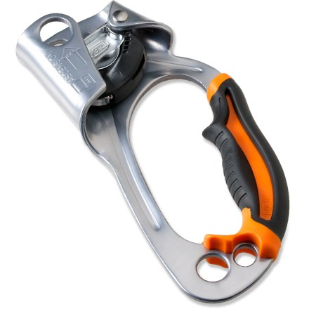 Climbing Updated to provide greater comfort, efficiency and ease of use, the Petzl Ascenion ascender is great for aid climbing, mountaineering or caving. - $39.93