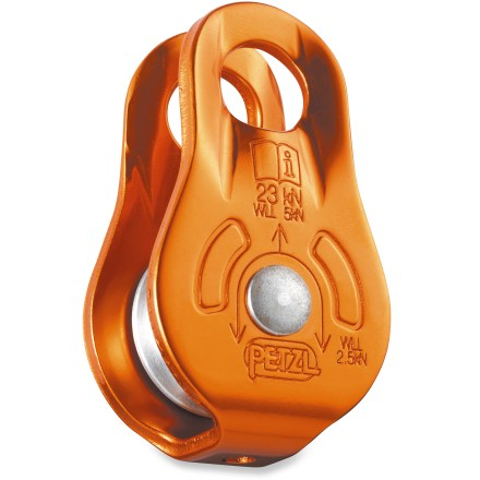 Climbing The lightweight, compact Petzl Fixe pulley will help you haul your gear up your next big-wall climb. - $24.95