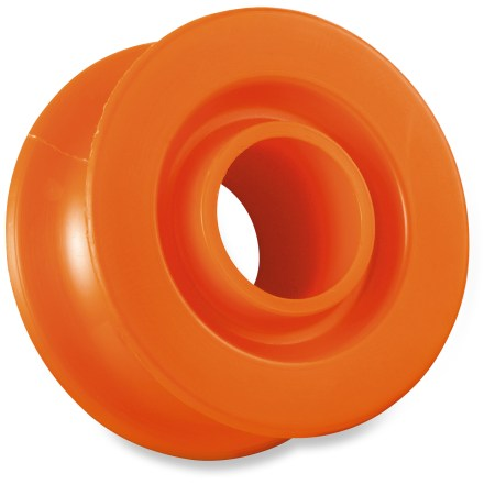 Climbing The Petzl Ultralegere pulley keeps weight to an absolute minimum and comes in handy for occasional use. - $4.95