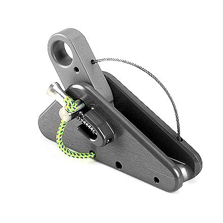Climbing Built for heavy-duty and rescue work, the Rescucender's spring-loaded design helps prevent damage to rope under shock loading. - $73.95